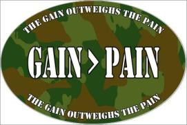 Gain Outweighs Pain