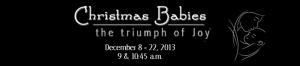 Christmas Babies - Blog header