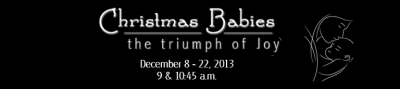 Christmas Babies - Blog header