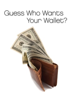 Guess Who Wants Your Wallet